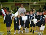 Η ομάδα του mini Basket