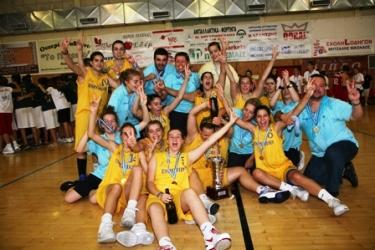 Πρωταθλήτριες Κορασίδων 2009 οι ΕΣΠΕΡΙΔΕΣ